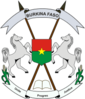 Burkina coat of arms