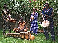 'Burkina drummers<div style=